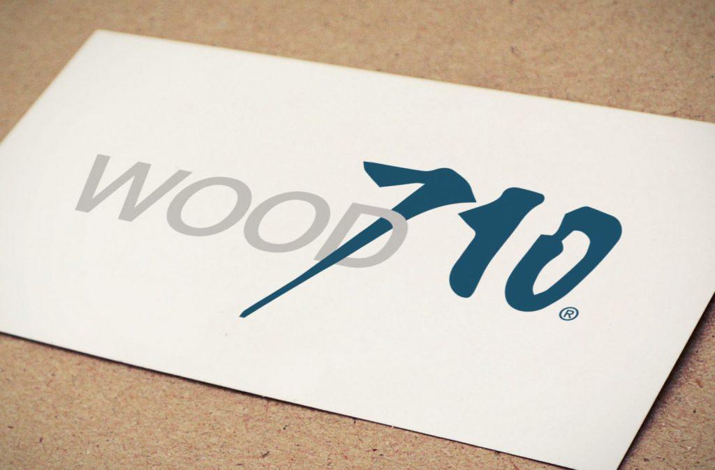 logo wood710 identité visuelle