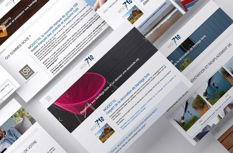 wood710 web design