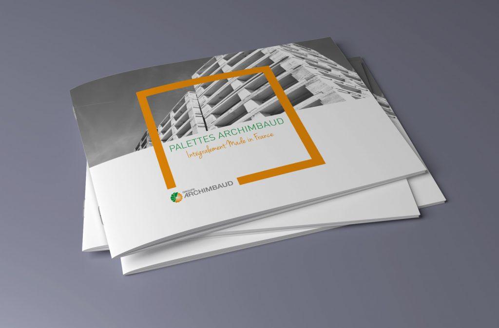 brochure sur les palettes de l'entreprise archimbaud