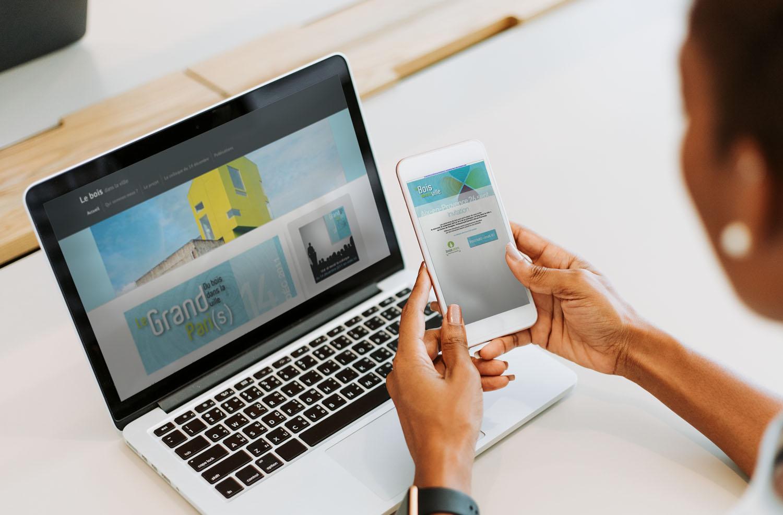 site et e-mailing bois.com